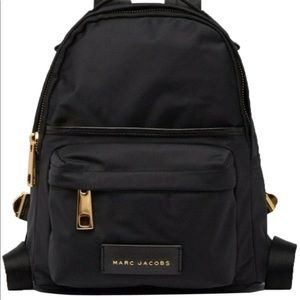 NWT Marc Jacobs large black backpack